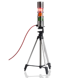 Illustration of: Tripod for flashing light