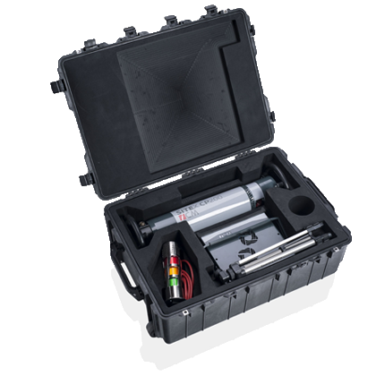 Illustration of:<p><strong>Pelicase</strong> transport case</p>