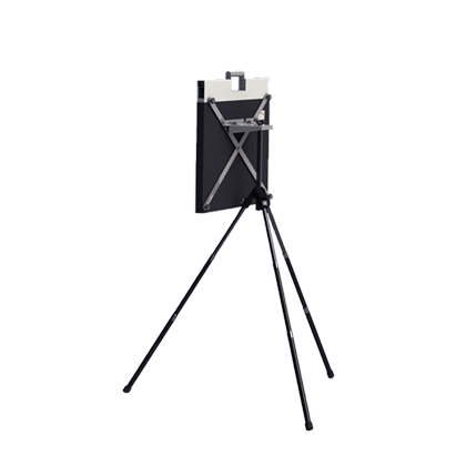 Illustration of:<p><strong>FLATSCAN</strong> Tripod</p>
