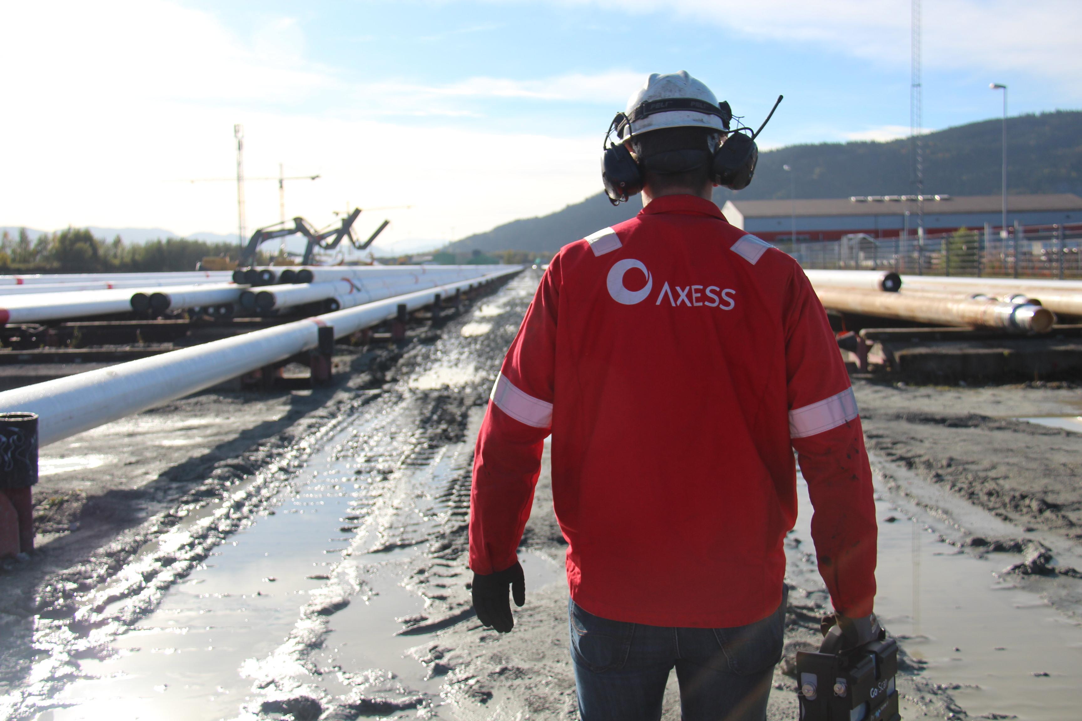 Pipeline, the Norwegian Deep Sea… and Digital Radiography